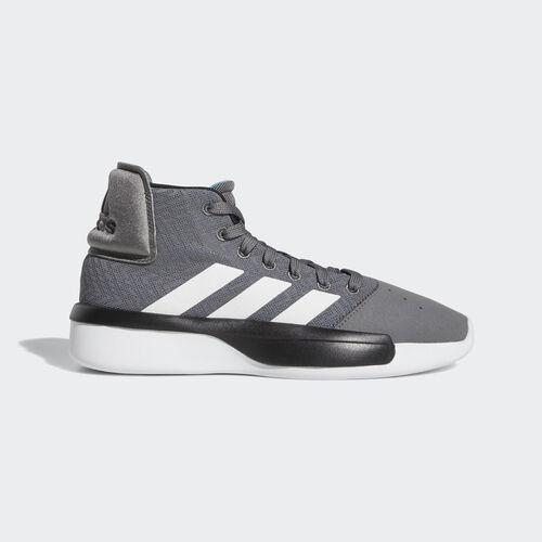 adidas - Pro Adversary 2019 Shoes Grey Four / Ftwr White / Shock Cyan BB9190