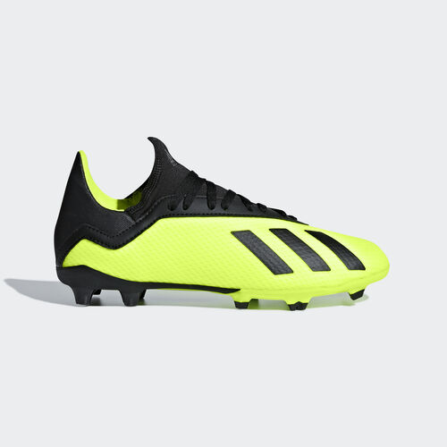 adidas - X 18.3 Firm Ground Boots Solar Yellow / Core Black / Solar Yellow DB2418