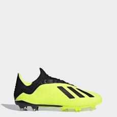cccda39a5b7a adidas - X 18.2 Firm Ground Boots Solar Yellow / Core Black / Ftwr White  DB2180 ...