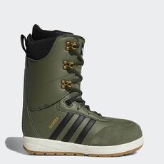 check out bb472 5cb60 adidas - Bota Samba ADV Base Green  Core Black  Off White AC8362