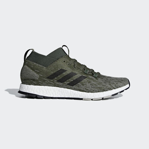 adidas - Pureboost RBL Shoes Base Green / Core Black / Sesame CM8312