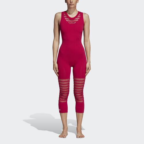 adidas - Yoga Warp Knit All in One Bodysuit Bold Pink CZ1738