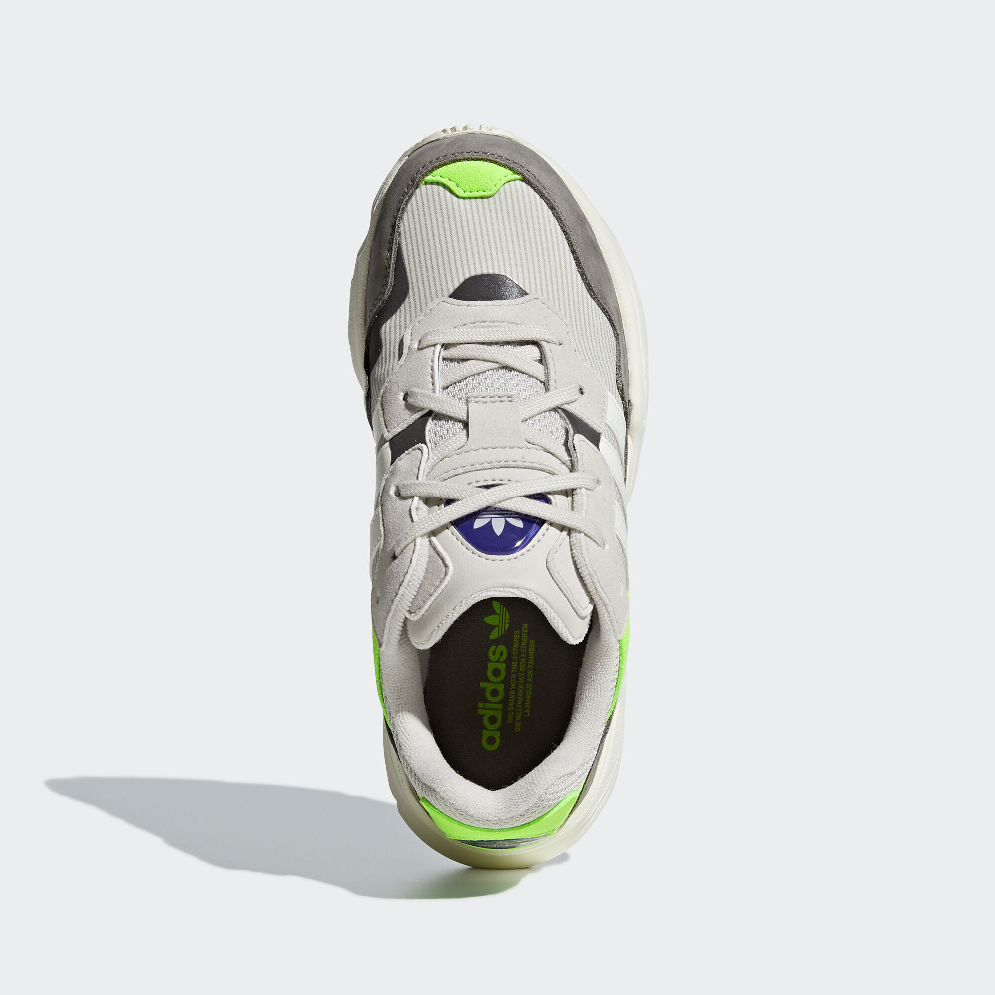 adidas Sapatos Yung-96 - Bege  e536eebea6ac5