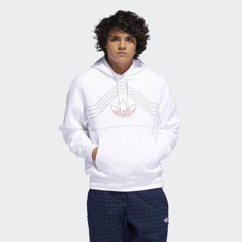 adidas - P.E. Rivalry Hoodie White / Raw Amber DV3102