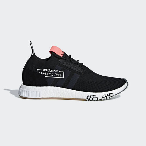 adidas - NMD_Racer Primeknit Shoes Core Black / Core Black / Bluebird BB7041