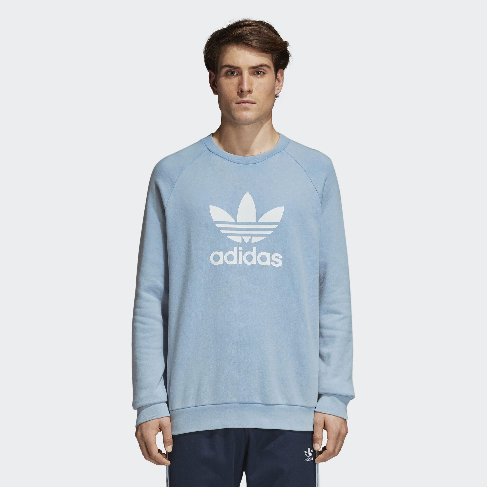 Adidas trifoglio scaldare felpa blu adidas regionali