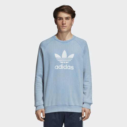 adidas - Trefoil Warm-Up Sweatshirt Ash Blue CV8643