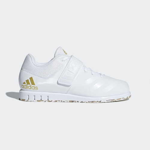 adidas - Powerlift.3.1 Shoes Ftwr White / Ftwr White / Gold Met. AC7467