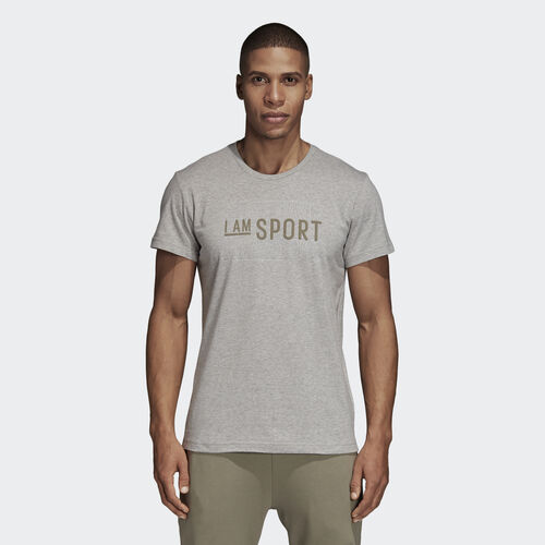adidas - Graphic Tee Medium Grey Heather DI0290