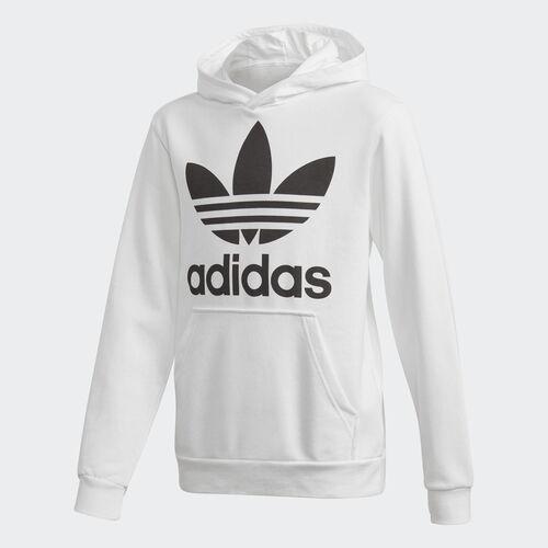 adidas - Trefoil Hoodie White / Black DH2667