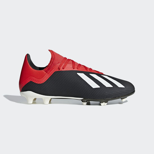 adidas - X 18.3 Firm Ground Boots Core Black / Off White / Grey Four BB9366