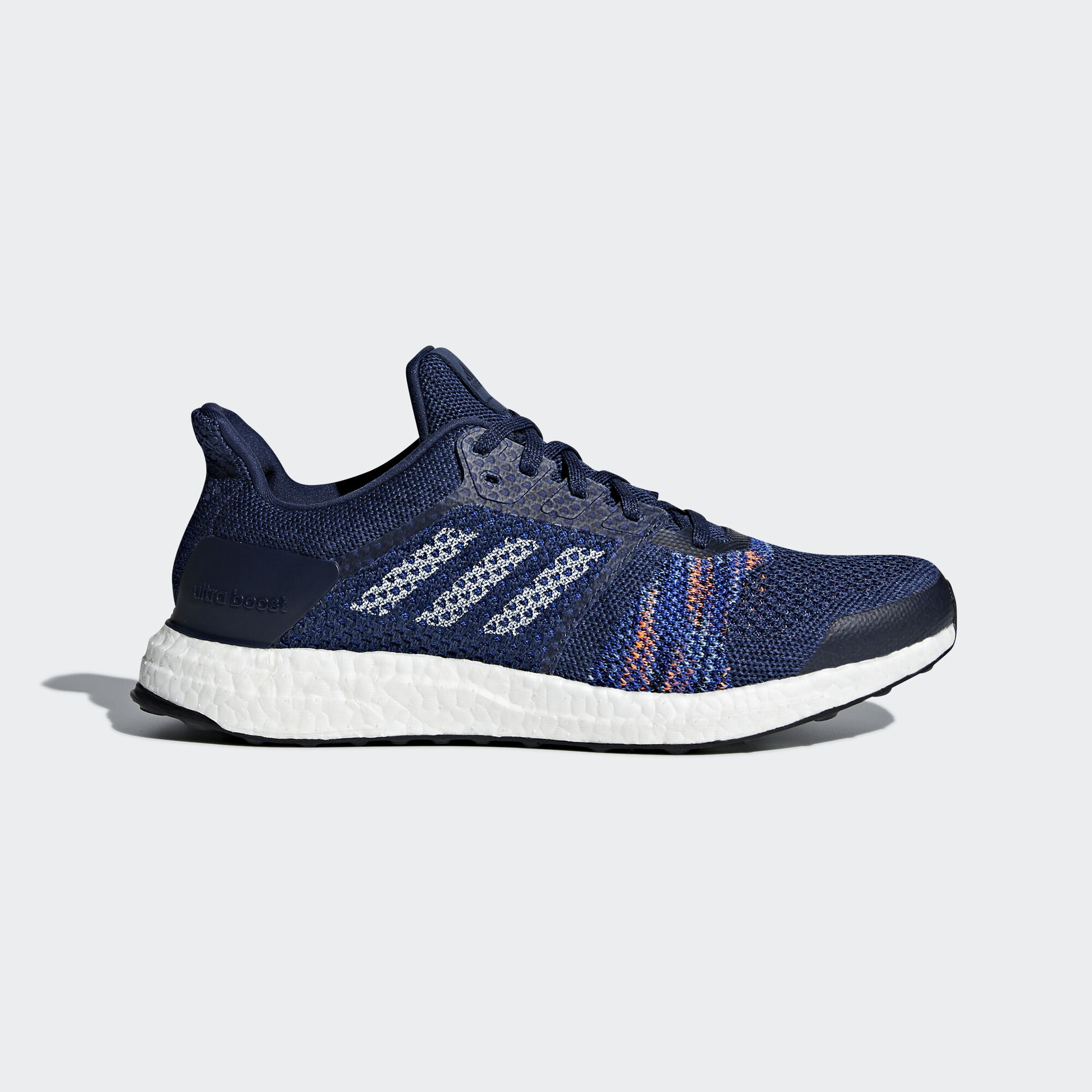 adidas - Ultraboost ST Shoes Noble Indigo/Ftwr White/Collegiate Navy  CQ2146. Men Running