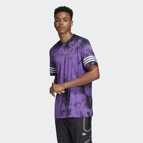 adidas - Space-Dyed Jersey Active Purple DU8513