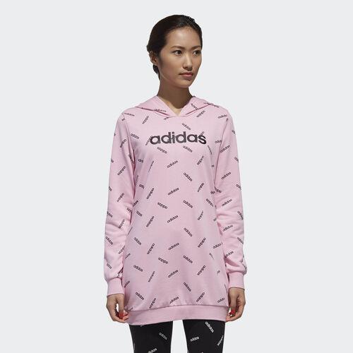 adidas - Graphic Hoodie True Pink / Black DW8019