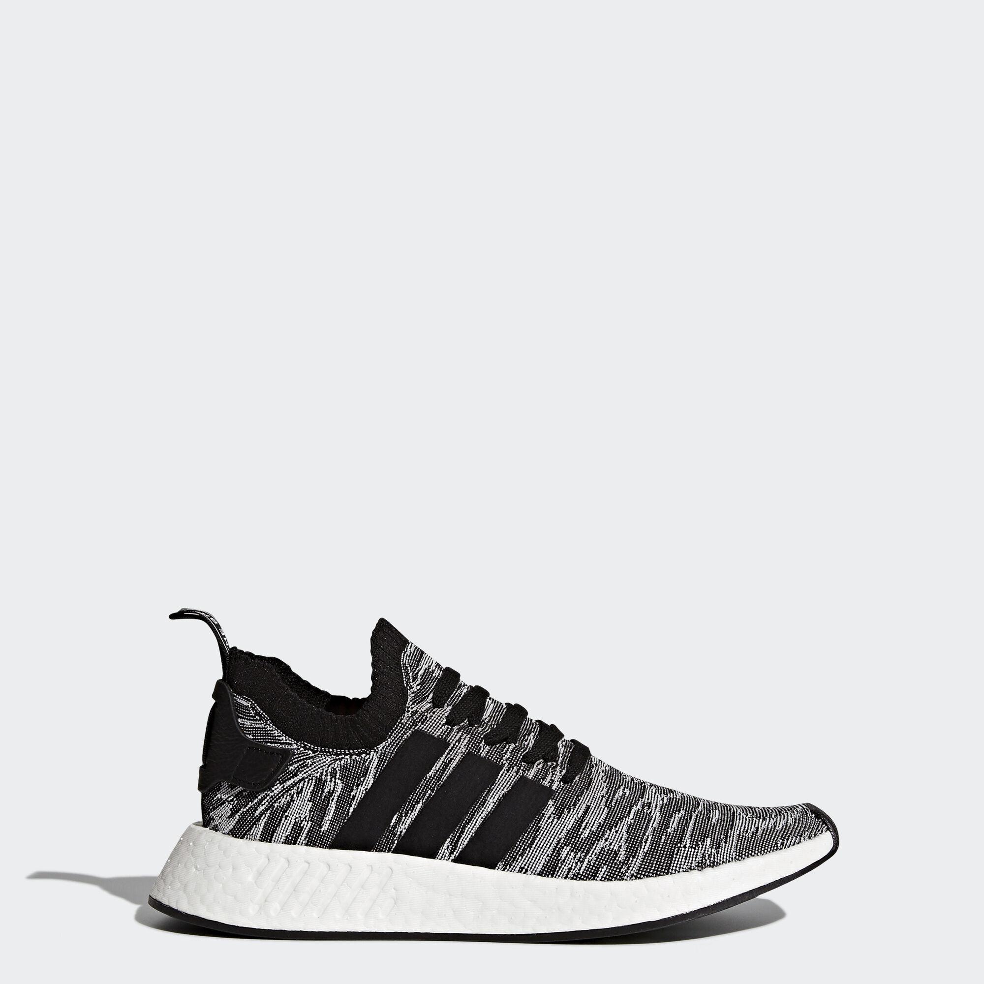 Adidas Originaux Adidas Nmd_r2 Primeknit Chaussures De Sport - Gris dH69hIpyux