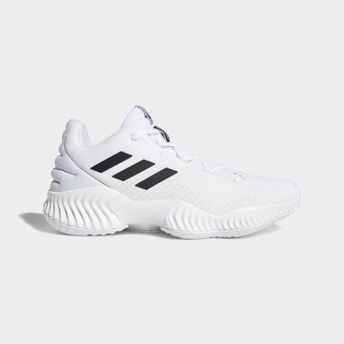 adidas - Pro Bounce 2018 Low Shoes Ftwr White / Core Black / Crystal White BB7410
