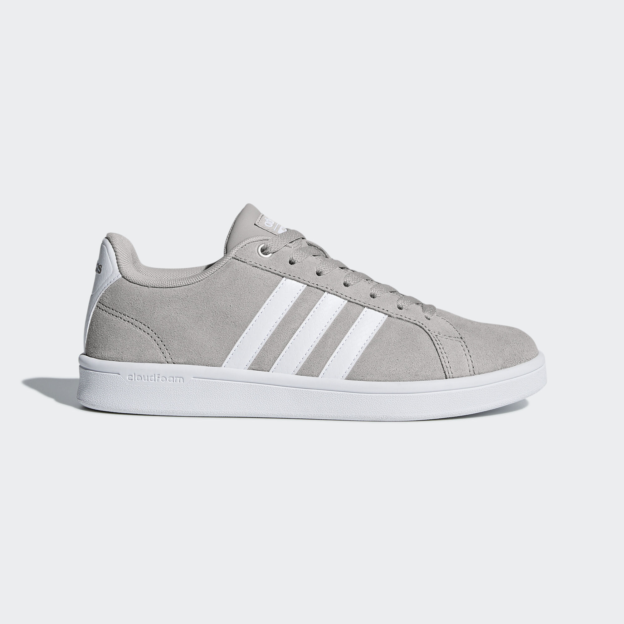 adidas - Cloudfoam Advantage Shoes Grey Two/Ftwr White/Matte Silver DB0848