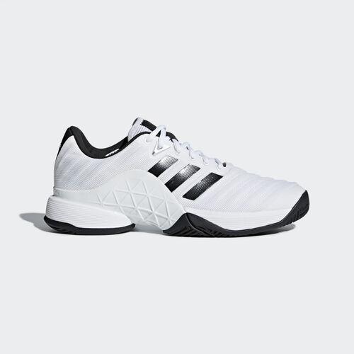 adidas - Barricade 2018 Shoes Ftwr White/Core Black/Matte Silver CM7819