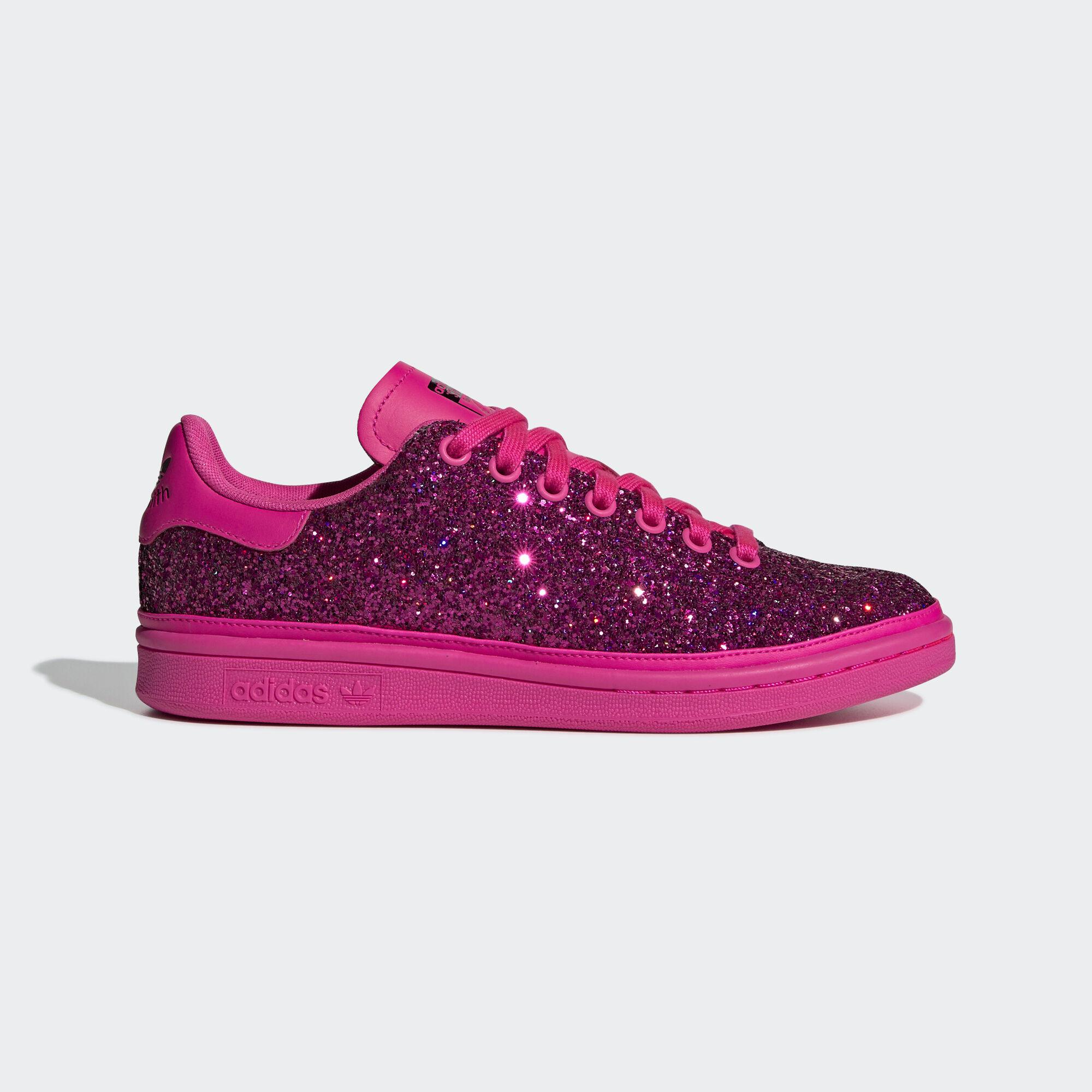 3c6e735611d3d ... pharrell williams hu holi stan smith in purple lyst ec35f 62ba6  cheap adidas  stan smith shoes shock pink shock pink collegiate purple bd8058 74655 ...