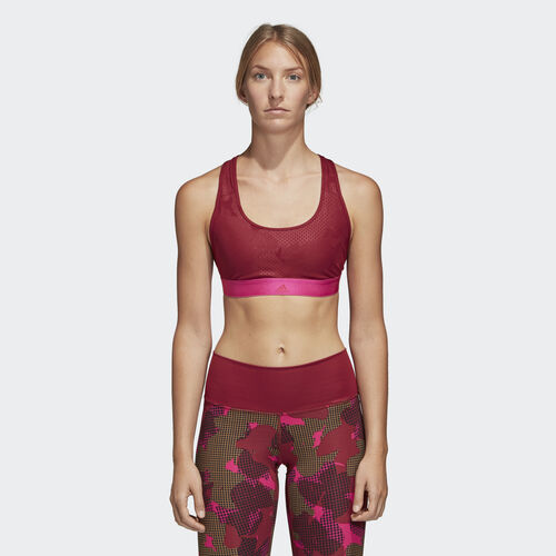 adidas - Don't Rest Iteration Bra Noble Maroon DH7095