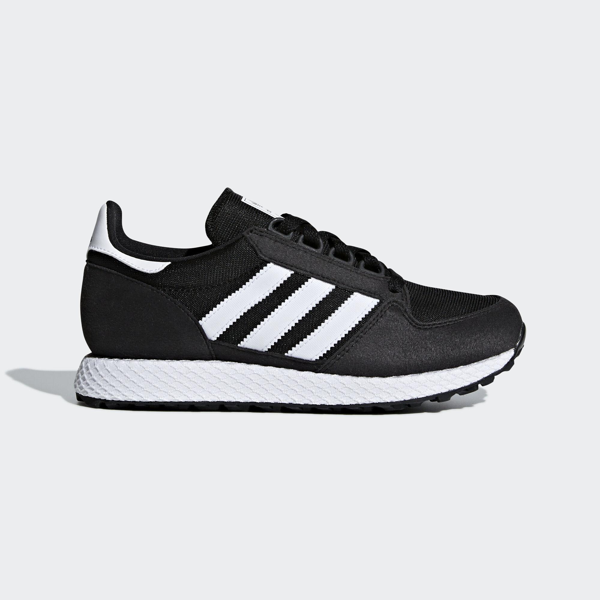adidas - Forest Grove Shoes Core Black   Ftwr White   Core Black B37743.  Kids Originals 6dad2f2467