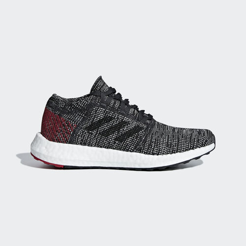 adidas - Pureboost Go Shoes Carbon / Core Black / Power Red B43505