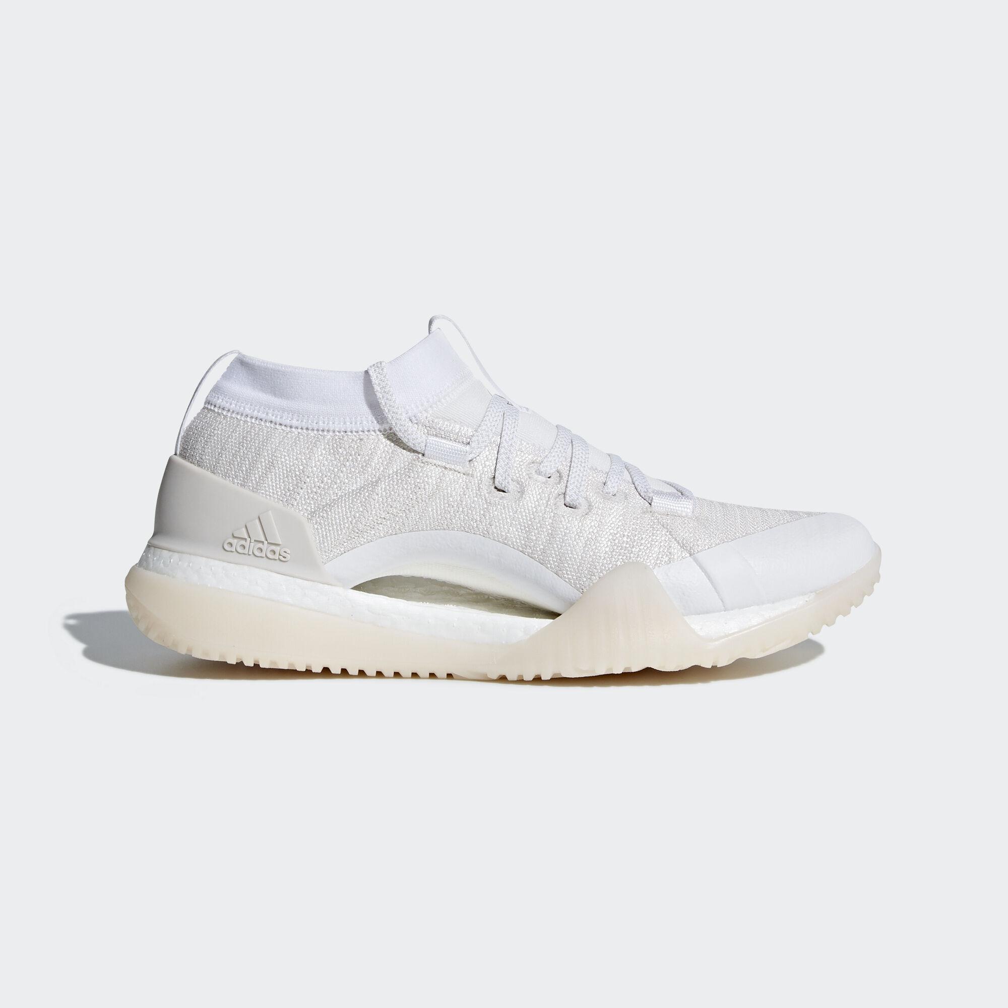 cb2f43e0842247 adidas - Pureboost X TR 3.0 Shoes Ftwr White Chalk Pearl Silver Metallic  CG3529