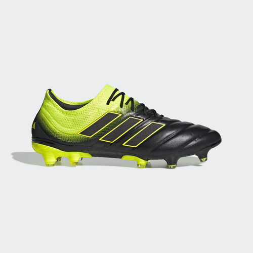 adidas - Copa 19.1 Firm Ground Boots Core Black / Solar Yellow / Core Black BB8088