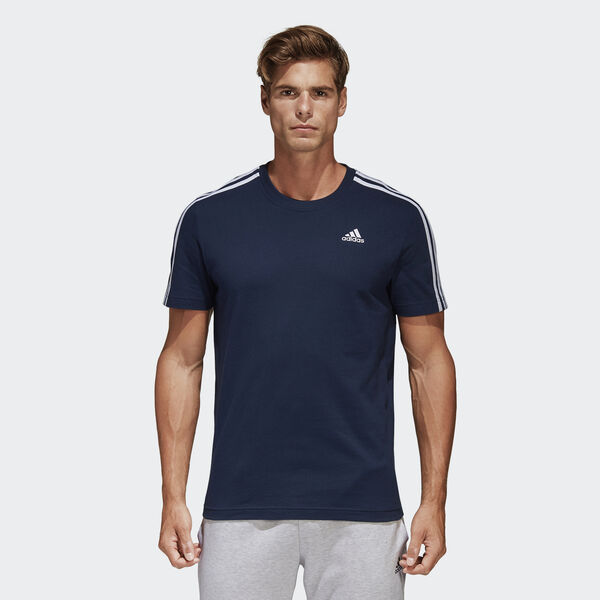 T-shirt Essentials Classics 3-Stripes Azul B47359