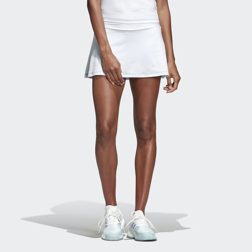 adidas - Parley Skirt White / Easy Blue DP0269