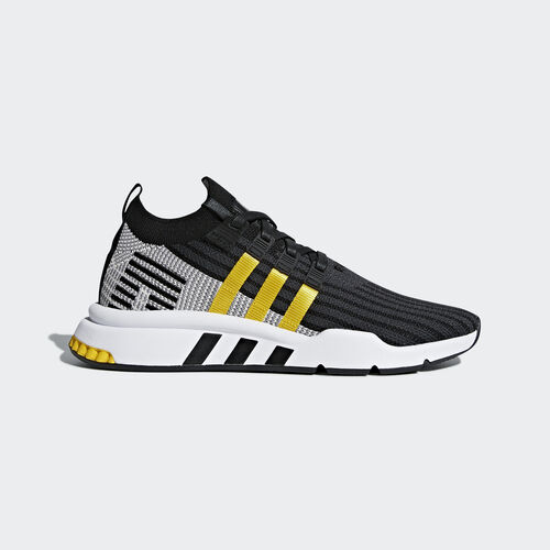 adidas - EQT Support Mid ADV Primeknit Shoes Core Black/Eqt Yellow/Ftwr White CQ2999