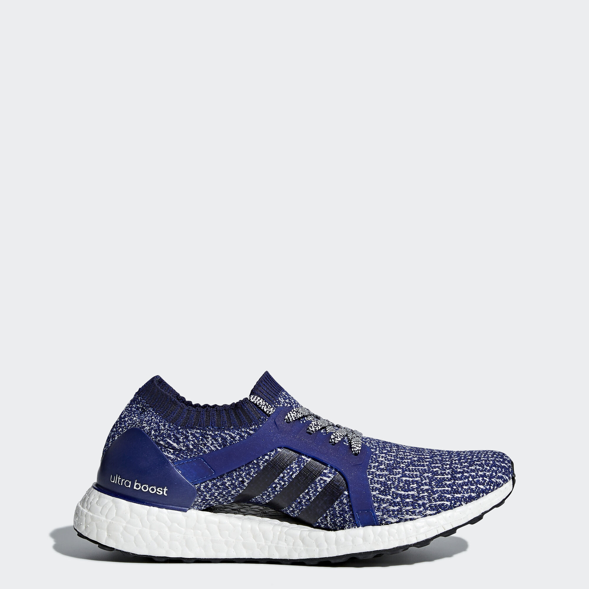 adidas - UltraBOOST X Shoes Purple/Mystery Ink/Noble Ink/Grey One BY2710. Women  Running