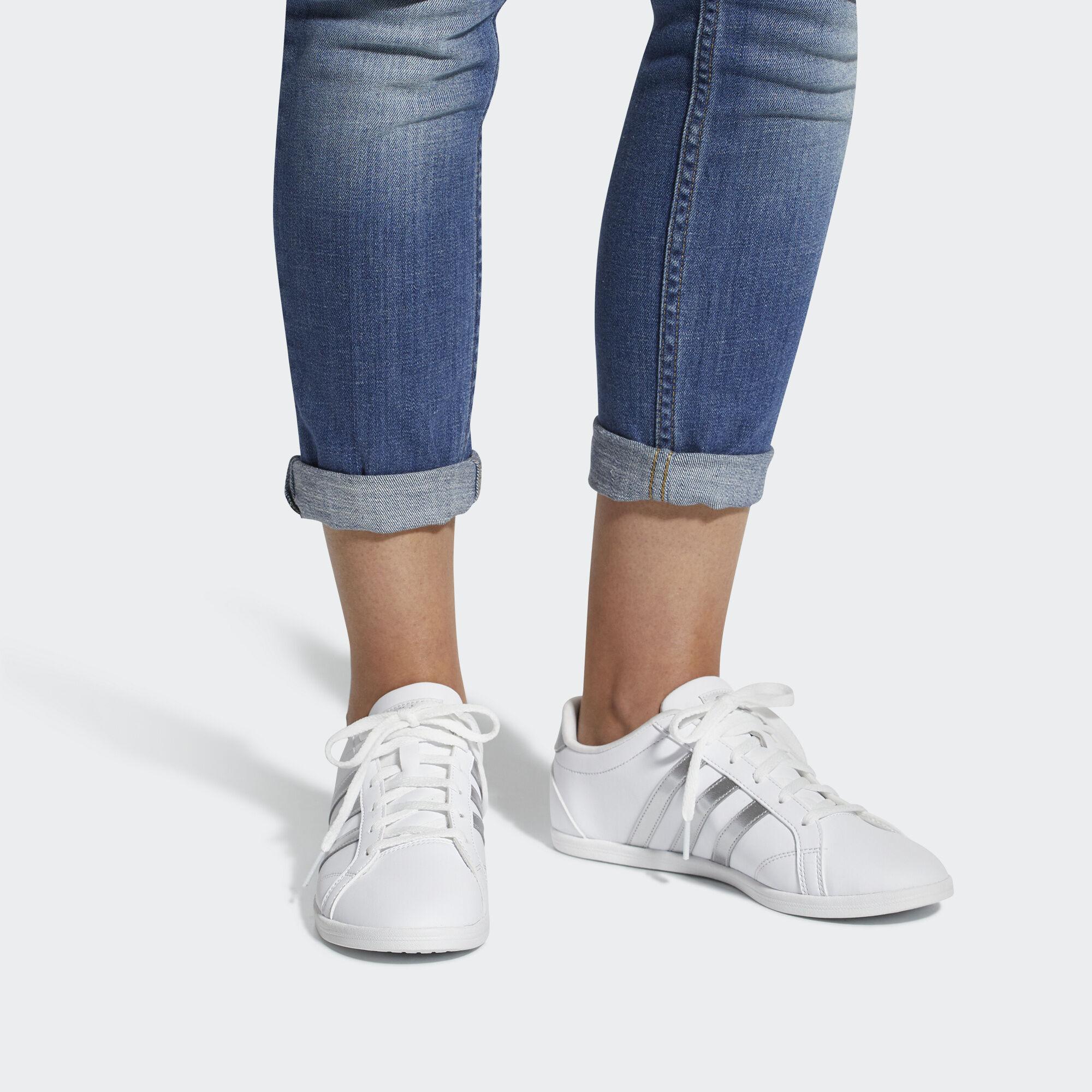 adidas Sapatos VS CONEO QT - Branco  7527bed637f87