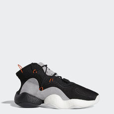 huge selection of 15530 c9ea2 adidas - Sapatos Crazy BYW Core BlackOrangeHi-Res Red CQ0993 ...