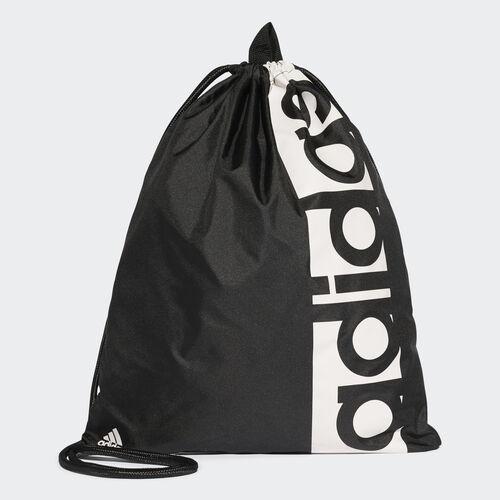adidas - Saco de Ginásio Linear Performance Black/White S99986