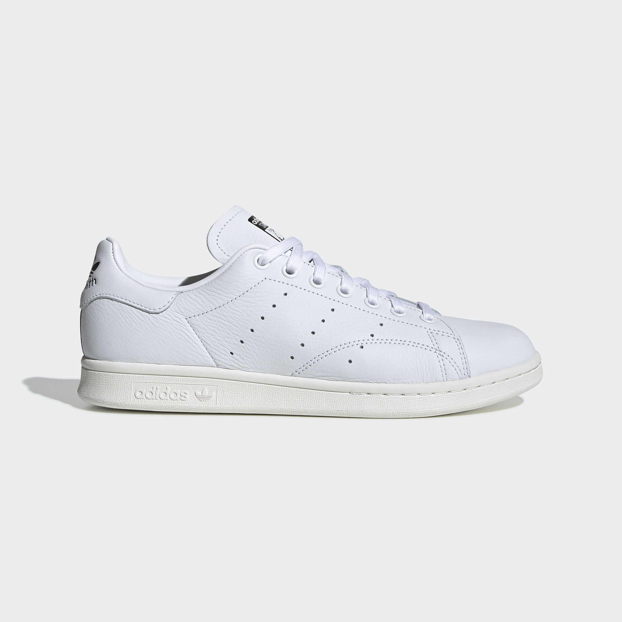 adidas - Stan Smith Shoes Ftwr White   Crystal White   Collegiate Green  F34071. Originals 0efa5a62b
