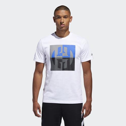 adidas - Harden Logo Tee White DN3091