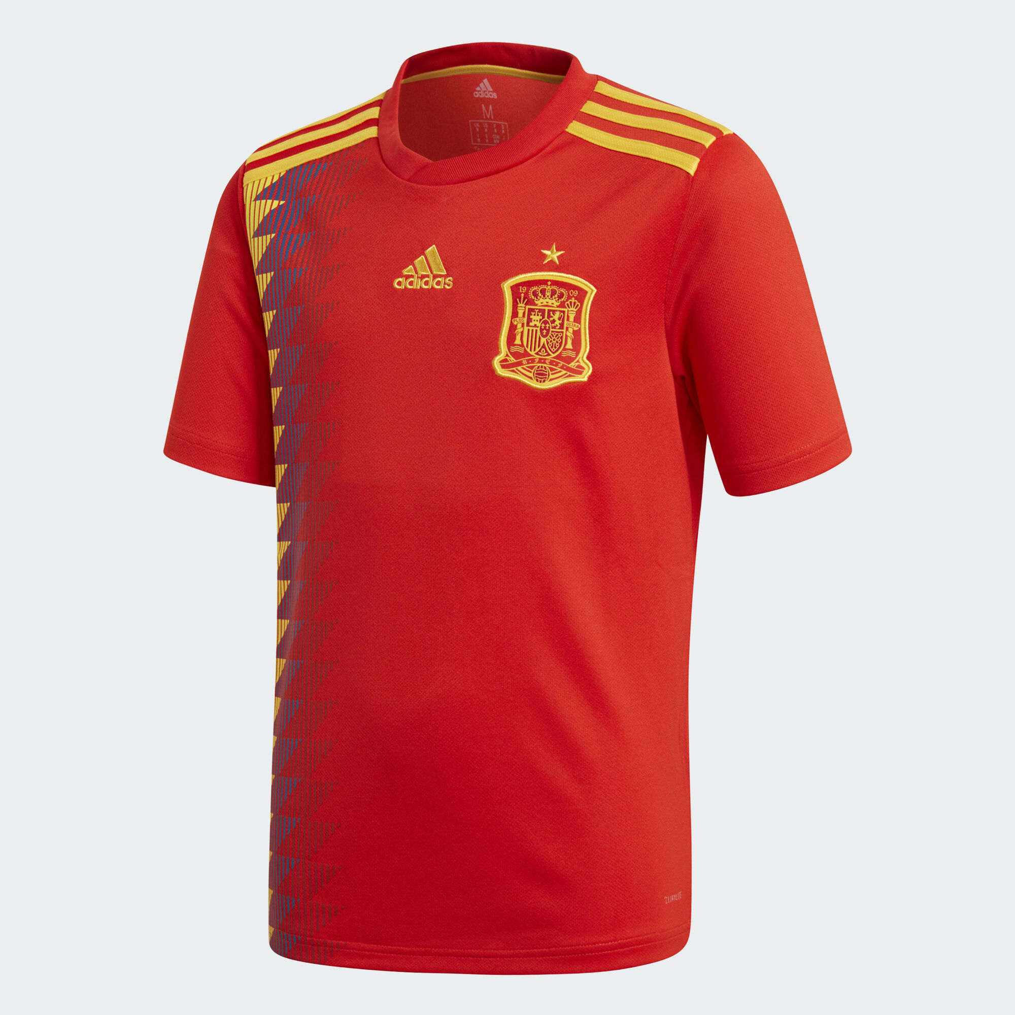 adidas - Spain Home Jersey Red Bold Gold BR2713 a7d080687