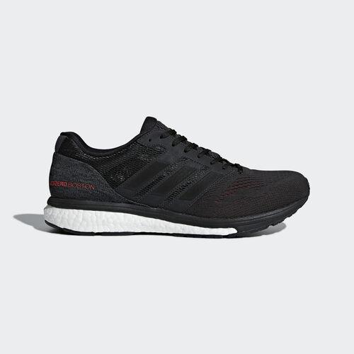 adidas - Adizero Boston 7 Shoes Carbon / Core Black / Hi-Res Red BB6538