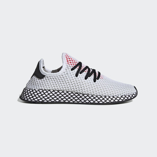 adidas - Deerupt Runner Shoes Ftwr White / Core Black / Shock Red DB2686