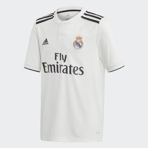adidas - Real Madrid Home Replica Jersey Core White / Black CG0554