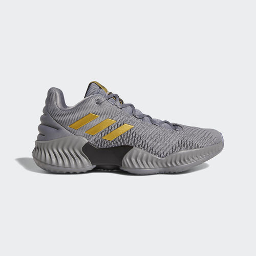 adidas - Pro Bounce 2018 Low Shoes Grey Three / Gold Met. / Grey Four AH2683