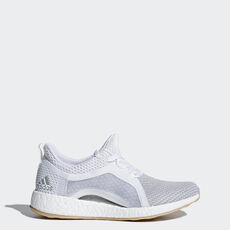 online store 997fe baad9 adidas - Sapatos Pureboost X Clima Ftwr WhiteSilver MetallicGrey Two  BB6089 ...