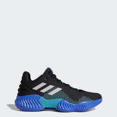 a56216e571f adidas - Pro Bounce 2018 Low Shoes Core Black / Lgh Solid Grey / Hi- ...