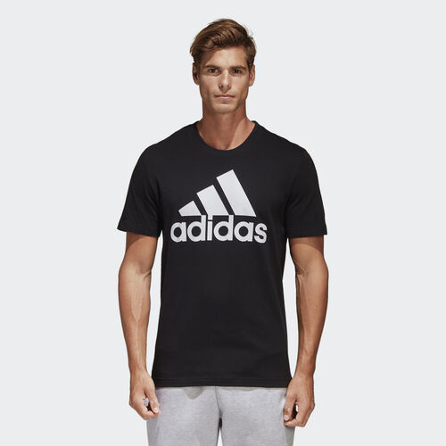 adidas - Essentials Linear Tee Black / White CD4864