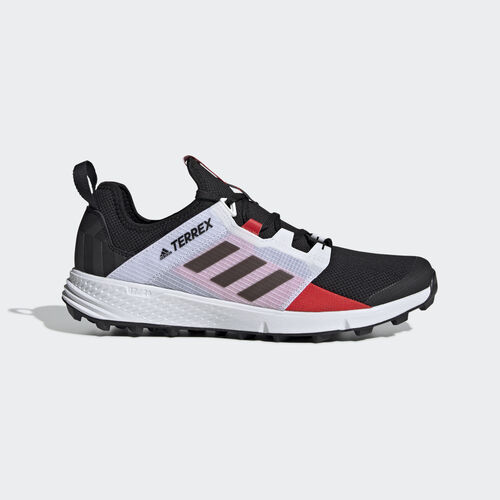 adidas - Terrex Agravic Speed LD Shoes Core Black / Core Black / Active Red BD7721