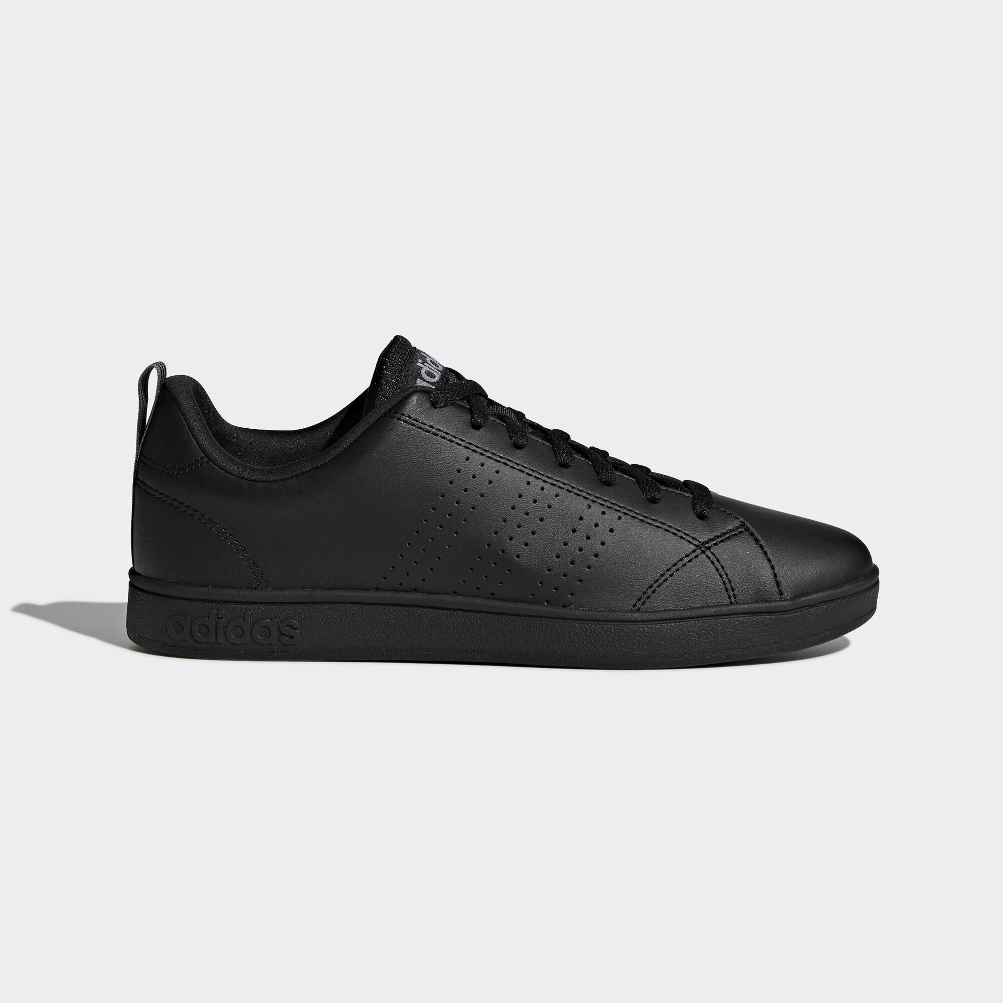 Adidas vs vantaggio le scarpe pulite nero adidas regionali