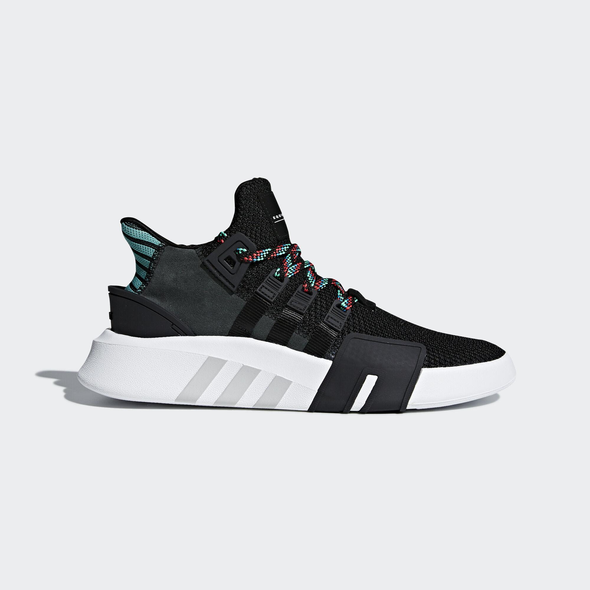 adidas schuhe, schwarze adidas sich eqt sind asien / naher osten