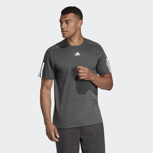 adidas - ID Stadium 3-Stripes Tee Grey CY9888