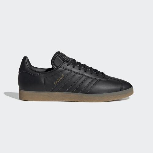 adidas - Gazelle Shoes Core Black / Core Black / Gum 3 BD7480